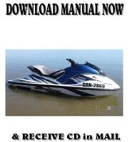 Yamaha Waverunner GP 800R factory repair shop service manual on CD (2000-02)
