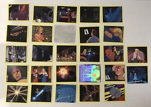 1993 PANINI Batman The Animated Series 27 Stickers Cards + 2x Hologram Job Lot