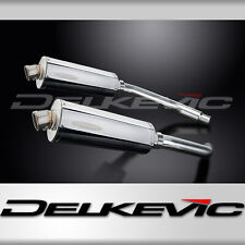 SUZUKI GSXR1100 W 1993-1994 350mm OVAL STAINLESS BSAU SILENCER EXHAUST KIT