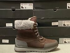 UGG ELIASSON SLATE WATERPROOF LEATHER MENS BOOTS $225 ALL SIZES 1017271 NEW