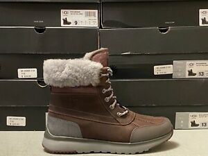 UGG ELIASSON SLATE WATERPROOF LEATHER MENS BOOTS $225 ALL SIZES 1017271 Size 8