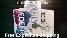 SIGNED Children of Eden A Novel by Joey Graceffa, autographed, new