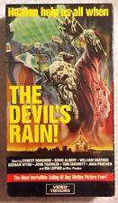 The Devil's Rain (NEW SEALED VHS) John Travolta William Shatner VERY RARE HTF!!