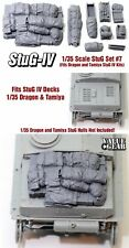 1/35 Scale StuG IV Deck Stowage Set #7 (8 Pieces) - Value Gear Resin