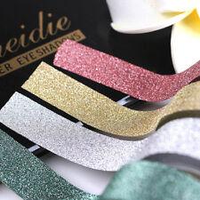 10M DIY Adhesive Glitter Washi Tape Stick Scrapbooking Book Decor Craft Rolls