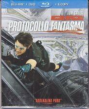 Blu-ray + Dvd **M:I 4 ♦ MISSION IMPOSSIBLE PROTOCOLLO FANTASMA** nuovo 20114