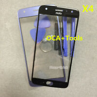 A++ Outer Front Screen Glass Lens Replace+OCA For Motorola Moto X4 X 4th XT1900