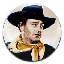 John Wayne Classic Movie Actor Western 25mm / 1 Inch D Pin Button Badge