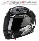 Helmet Scorpion Exo 710 Cerberus black moto integral helm casque