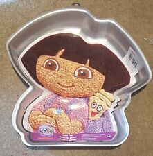 NEW Wilton Aluminium Nikelodeon Dora The Explorer with Backpack Cake Tin-Unisex