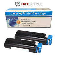 2 Pack Black Toner Cartridge for Oki data B411d B431d MB461 MB471 MF491 Printer