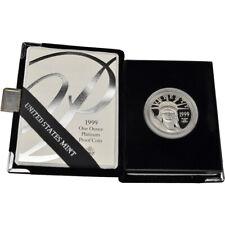 1999-W American Platinum Eagle Proof 1 oz $100 in OGP