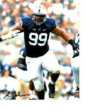 Austin Johnson Penn State Hand signed autographed 8x10 football photo Titans