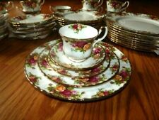 Royal Albert Old Country Roses 5 Piece Place Setting (10 Sets Available)