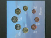Finland:2001 Euro Set, 8 Coins - 1,2,5,10,20,50 C. 1,2 Euro * Mint *