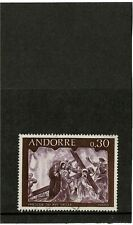 ANDORRE ANDORRA FRENCH POST OFFICES 1967 30c FRESCOES HOUSE OF VALLEYS FINE USED