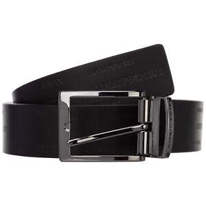 Emporio Armani belt men Y4S426YTU5J88045 Black adjustable leather reversible