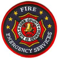 Cobb County Fire and Emergency Services Department Patch Georgia GA NEW