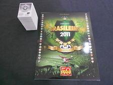 ALBUM PANINI SOCCER BRAZIL CHAMPIONSHIP 2011 + COMPLETE STICKERS SET