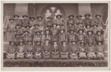 Girl Guides, Wakefields of Hanwell, London RP Postcard B759