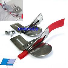 2 Set Raw Edge Plain Tape Binder Attachment Single Fold For Juki Ddl-8500 8300