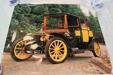 Vtg European Car Automobile Collector Poster WOLSELEY SIDDELEY Car Photo Film