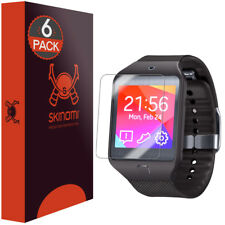 Skinomi TechSkin Clear Screen Protector for Samsung Galaxy Gear 2 Neo (6-Pack)
