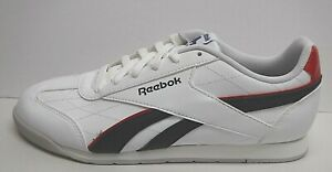 Reebok Size 7 White Sneakers New Mens Shoes