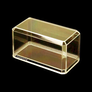 3x 1:64 Scale Crystal Clear Acrylic Display Cases Matchbox Hot Wheels US Made