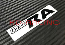 Subaru Impreza Type RA Replacement Decal Sticker STI WRX JDM Free Shipping