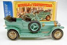 "Models of Yesteryear Y-15A Rolls Royce Silver Ghost grünmetallic in ""E"" Box"