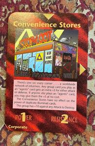 Illuminati INWO assassins convenience stores promo NM scarce