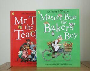 Mr Tick the Teacher/Master Bun the Baker's Boy by Allan Ahlberg (2 pbs) New