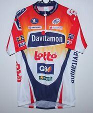 Davitamon-Lotto cycling team shirt jersey Size XL