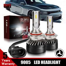 Pair 12000LM 6000K 9005 CSP DOT LED Headlight Bulb For 2004-2016 SUBARU IMPREZA