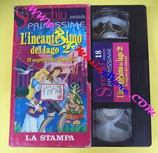VHS film cartonata L'INCANTESIMO DEL LAGO 2 Ilsegreto del castello (F91) no dvd
