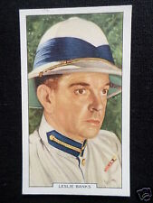 """"""" MY FAVOURITE PART """"  FILM STAR- LESLIE BANKS - GALLAHER CARD-1939 -#11"""