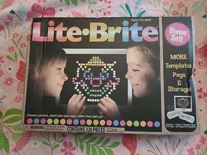 Basic Fun LITE Brite Magic Screen Light Bright Bonus Set