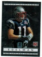 2009 Topps Platinum Julian Edelman Rookie Card # 159 New England Patriots RC