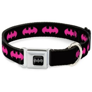 Dog Collar Seat Belt Licensed DC Comics Batman WBM215