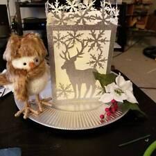 Christmas Elk Lantern Metal Cutting Dies Stencil DIY Scrapbook Album Card DIJIR