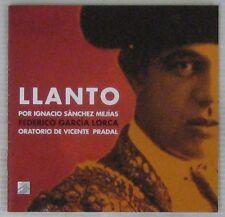 Federico Garcia Lorca Llanto por Ignacio Sanchez Majias