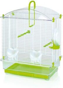 Gabbia per uccelli pappagalli canarini cocoritas LARA completa di accessori