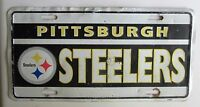 Pittsburgh STEELERS 1980's SOUVENIR / BOOSTER License Plate