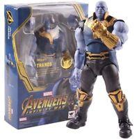 Avengers Infinity War Thanos Figura de Acción SHF: tamaño: 16 cm.