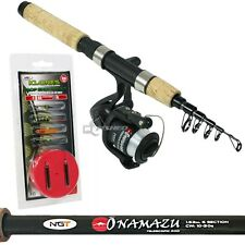Mini Travel Fishing Telescopic Rod Reel Onamazu Carbon 31cm Closed Length Cork