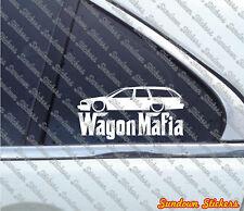 Lowered WAGON MAFIA sticker - for Chevrolet Caprice station wagon (1991-1996)
