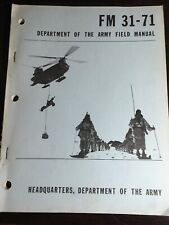 FM 31-71 Department Of Army Field June 1971 Northern Operations