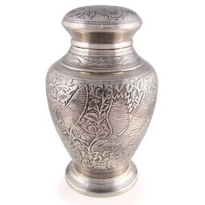 """Cremation Urn for adults - Size Large 10"""" - Ashes Urn Eagles Journey"""