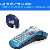 6 Pezzi LetraTag Ricarica Nastri per Etichette Etichettatrice per Dymo 9133 Z6D1